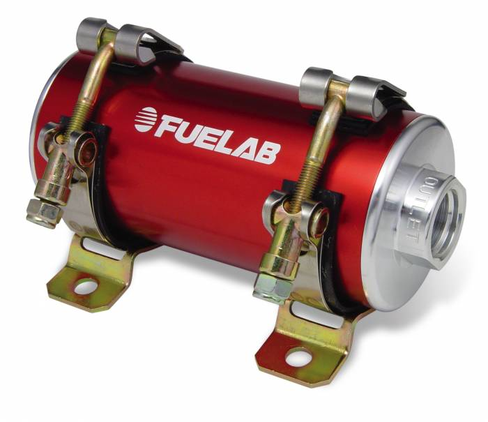 Fuelab - Fuelab CARB In-Line Fuel Pump 1800HP w/External Bypass 41404-2