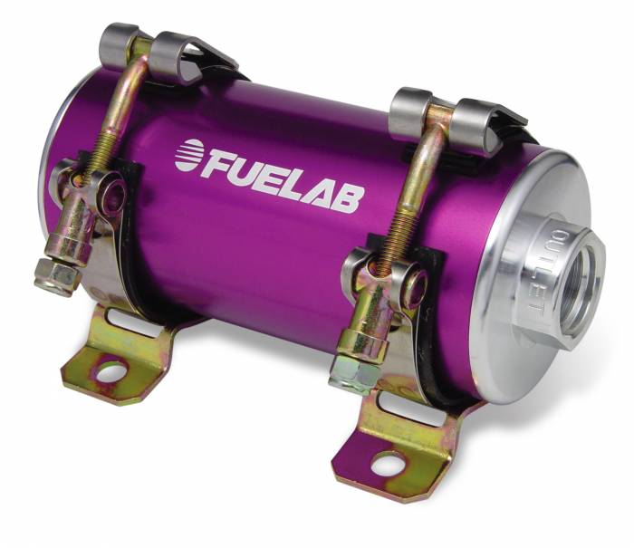 Fuelab - Fuelab CARB In-Line Fuel Pump 1800HP w/External Bypass 41404-4