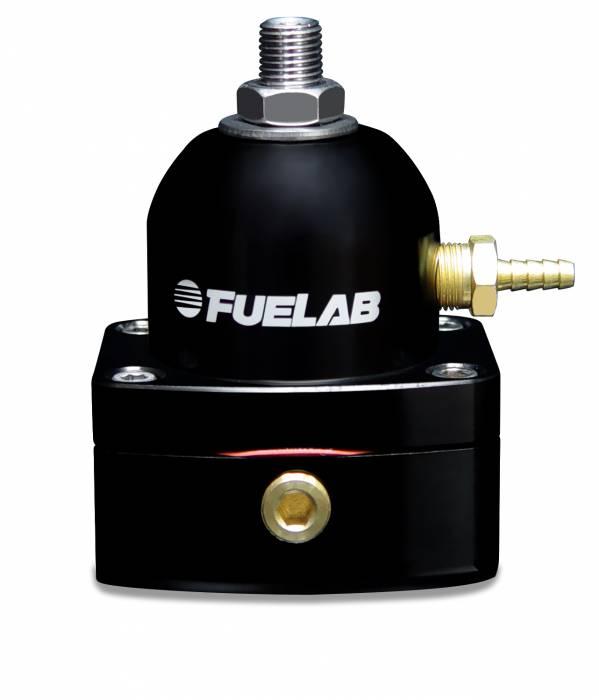 Fuelab - Fuelab Fuel Pressure Regulator 52503-1-L-L