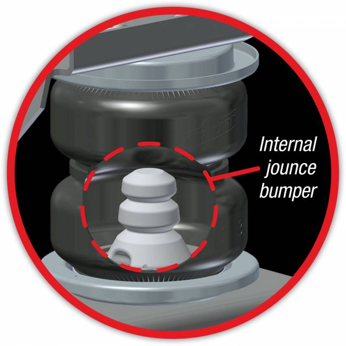 Air Lift - Air Lift LoadLifter 5000 Ultimate air spring kit w internal jounce bumper 88339