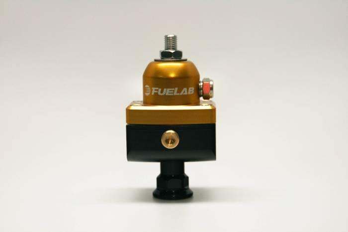 Fuelab - Fuelab CARB Fuel Pressure Regulator, Blocking Style, Mini 57502-5