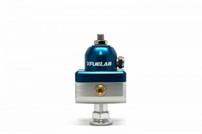 Fuelab - Fuelab CARB Fuel Pressure Regulator, Blocking Style, Mini 57504-3