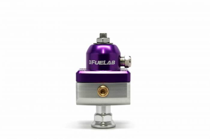 Fuelab - Fuelab CARB Fuel Pressure Regulator, Blocking Style, Mini 57504-4