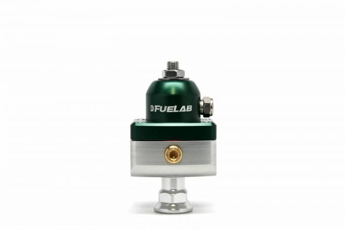 Fuelab - Fuelab CARB Fuel Pressure Regulator, Blocking Style, Mini 57504-6