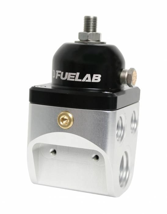 Fuelab - Fuelab CARB Fuel Pressure Regulator, Blocking Style, 4 port High Flow 58501