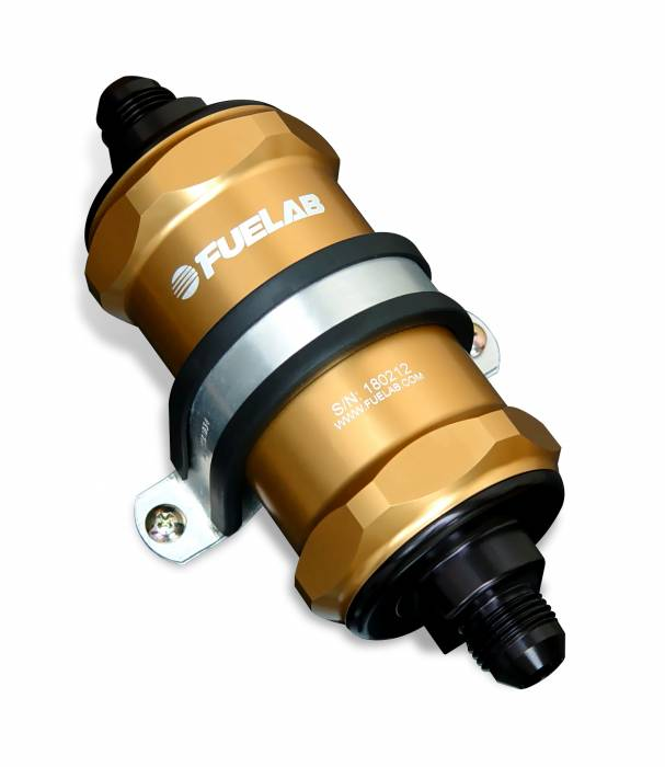 Fuelab - Fuelab In-Line Fuel Filter 81800-5-12-8