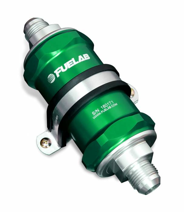 Fuelab - Fuelab In-Line Fuel Filter 81800-6-12-8