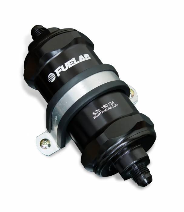 Fuelab - Fuelab In-Line Fuel Filter, 75 micron 81821-1