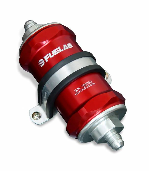 Fuelab - Fuelab In-Line Fuel Filter, 75 micron 81823-2