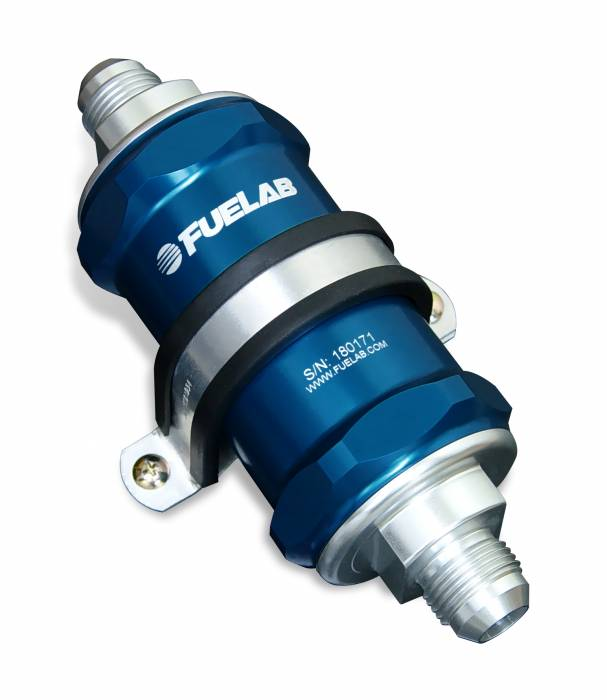 Fuelab - Fuelab In-Line Fuel Filter 81830-3-12-6