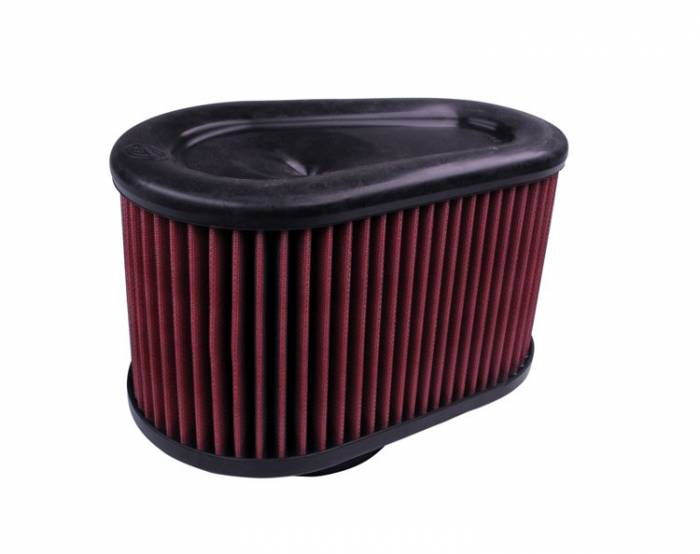 S&B Filters - S&B Filters Replacement Filter for S&B Cold Air Intake Kit (Cleanable, 8-ply Cotton) KF-1039