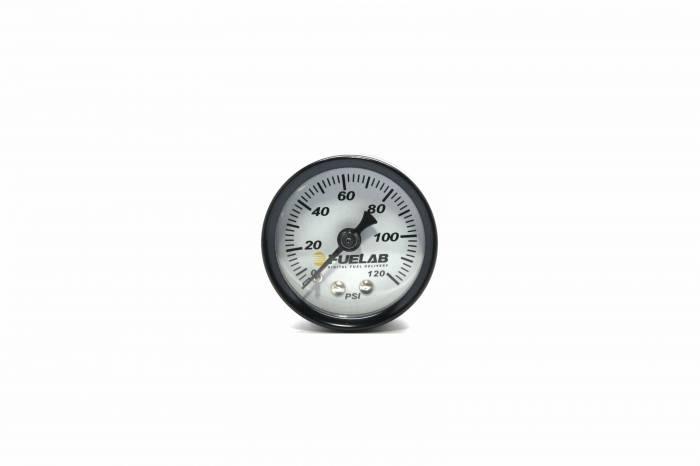 Fuelab - Fuelab Fuel Pressure Gauge, EFI 71501