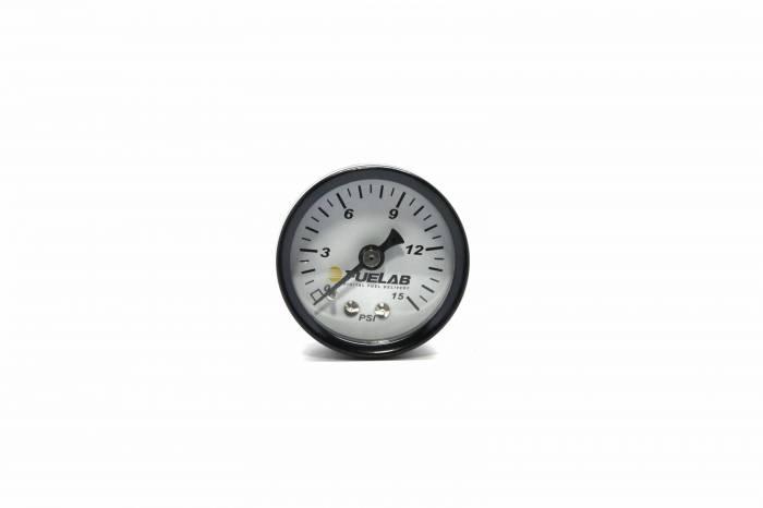 Fuelab - Fuelab Fuel Pressure Gauge, CARB 71502