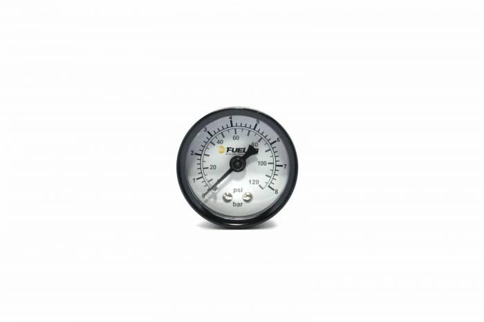 Fuelab - Fuelab Fuel Pressure Gauge, DUAL SCALE BAR/EFI 71511