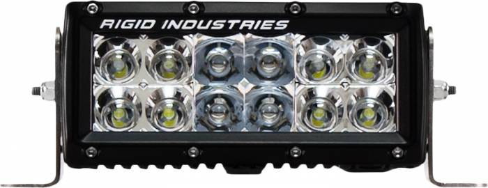 "Rigid Industries - Rigid Industries 6"" E Series - Spot/Flood Combo- Amber 106322"