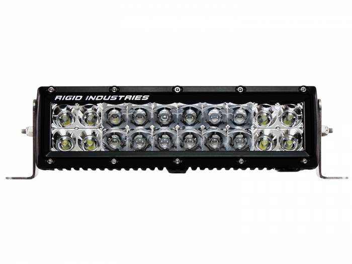 "Rigid Industries - Rigid Industries 10"" E Series - Spot/Flood Combo - Amber 110322"