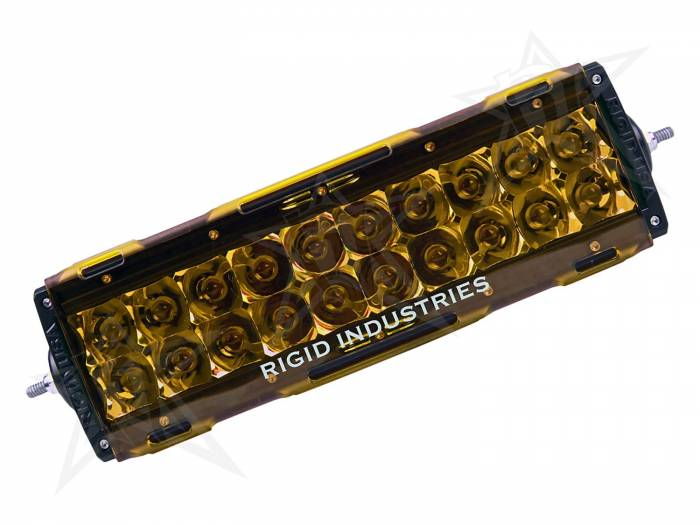 "Rigid Industries - Rigid Industries 10"" E-Series Light Cover - Amber -trim 4"" & 6"" 11093"