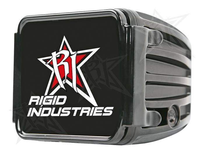 Rigid Industries - Rigid Industries Protective Polycarbonate Cover - Dually/D2 - Black 20191