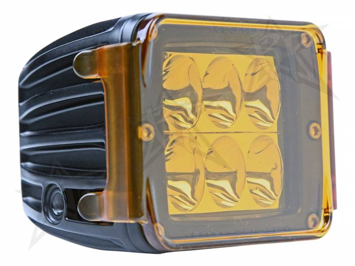 Rigid Industries - Rigid Industries Protective Polycarbonate Cover - Dually/D2 - Amber 20193