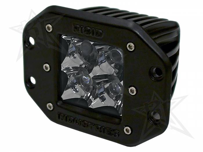 Rigid Industries - Rigid Industries Dually - Flush Mount - Spot - Single 21121