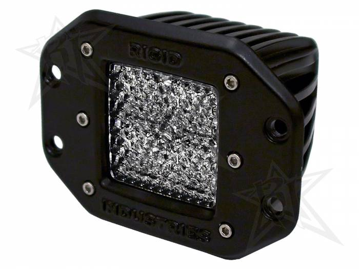 Rigid Industries - Rigid Industries Dually - Flush Mount - 60 Deg. Lens - Single 21151