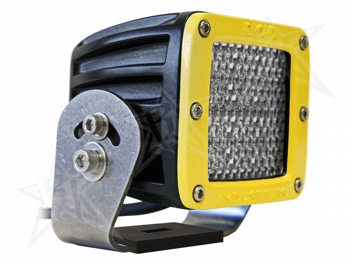 Rigid Industries - Rigid Industries Dually HD Yellow- 60 Deg. Lens - Single 23151