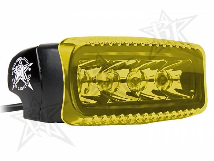 Rigid Industries - Rigid Industries SR-Q Light Cover- Amber 31193
