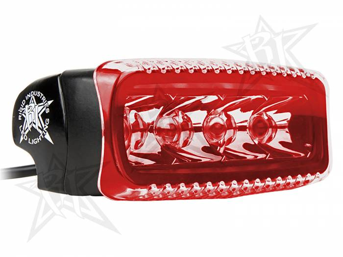 Rigid Industries - Rigid Industries SR-Q Light Cover- Red 31195