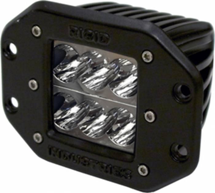 Rigid Industries - Rigid Industries D2 - Flush Mount - Wide - Single 51111