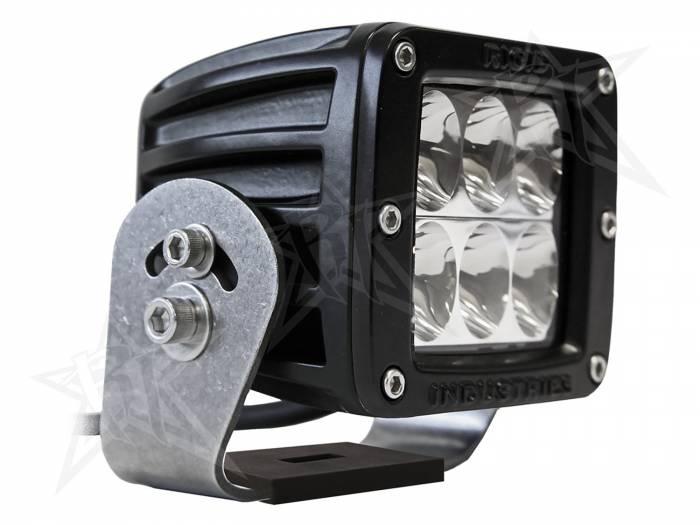 Rigid Industries - Rigid Industries D2 HD Black- Driving - Single 52131