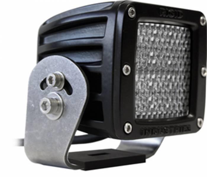 Rigid Industries - Rigid Industries D2 HD Black- 60 Deg. Lens - Single 52151