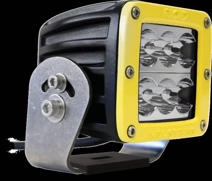 Rigid Industries - Rigid Industries D2 HD Yellow- Wide - Single 53111
