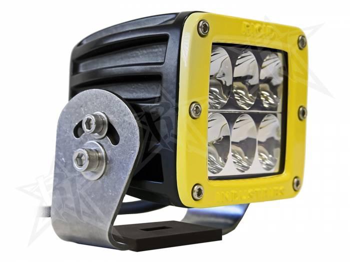 Rigid Industries - Rigid Industries D2 HD Yellow- Driving - Single 53131