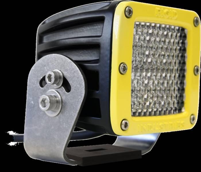 Rigid Industries - Rigid Industries D2 HD Yellow- 60 Deg. Lens - Single 53151