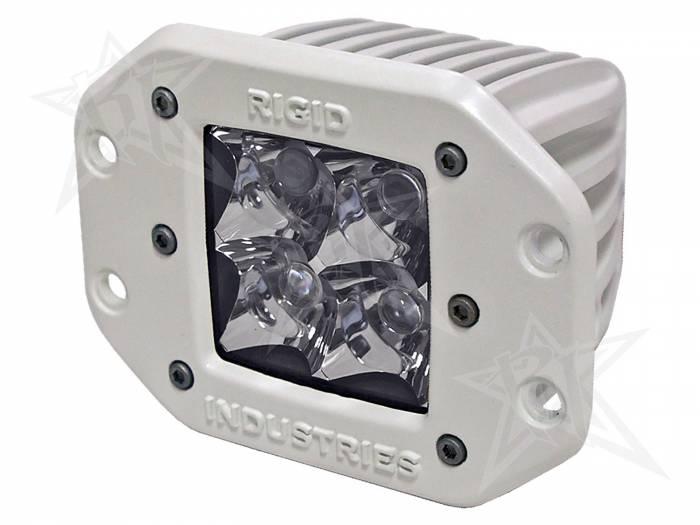Rigid Industries - Rigid Industries Marine - Flush Mount - Dually - Spot - Single 61121