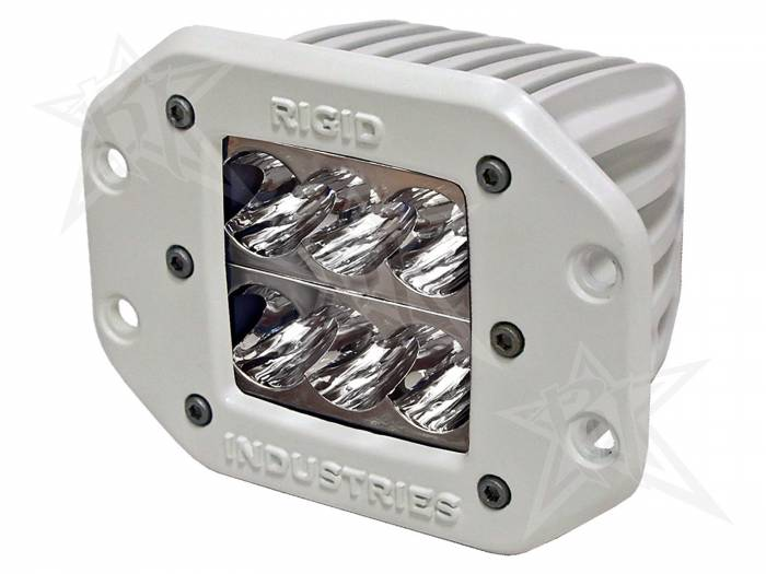 Rigid Industries - Rigid Industries Marine - Flush Mount - D2 - Wide - Single 71111