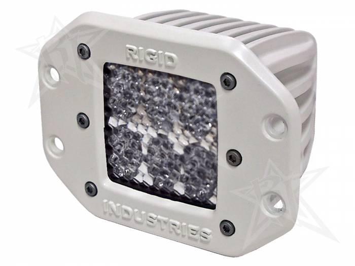 Rigid Industries - Rigid Industries Marine - Flush Mount - D2 - 60 Deg. Lens - Single 71151