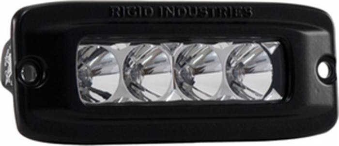 Rigid Industries - Rigid Industries SRQ - Flood -White - Flush Mount - Single 92411