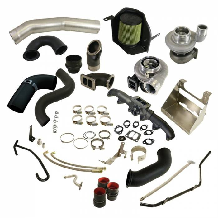 BD Diesel - BD Diesel Cobra Twin Turbo Kit S361SX-E / S476SX-E - Dodge 2010-2012 6.7L 1045782