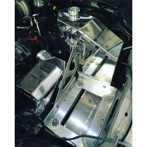 No Limit Fabrication - No Limit 6.7 Power Stroke Aluminum Coolant Tank