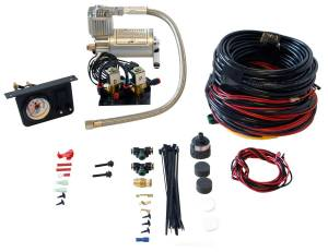 Steering And Suspension - Air Suspension Parts - Air Lift - Air Lift LOAD CONTROLLER I; ON-BOARD AIR COMPRESSOR CONTROL SYSTEM; DUAL NEEDLE; INSTALLA 25651