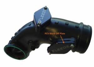 Exhaust - EGR Parts - Fleece Performance - Fleece Performance LML PCV Block Off Plate (2012-2013) FPE-LML-PCV-1213