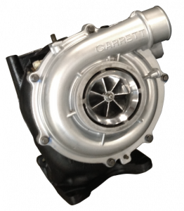 Turbo Chargers & Components - Turbo Chargers - Fleece Performance - Fleece Performance 63mm Billet Duramax VNT Cheetah Turbocharger FPE-LBZ-VNT63-BW