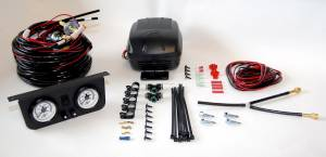 Air Lift - Air Lift LOAD CONTROLLER II; ON-BOARD AIR COMPRESSOR CONTROL SYSTEM; DUAL GAUGE; 25812 - Image 2