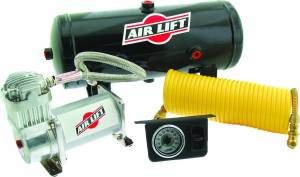 Steering And Suspension - Air Suspension Parts - Air Lift - Air Lift ON BOARD AIR COMPRESSOR KIT 25690