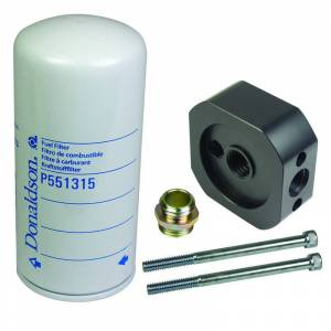 Air/Fuel - Fuel System Parts - BD Diesel - BD Diesel Flow-MaX Add-On Post Fine Particle Fuel Filter Kit 1050340-PFF