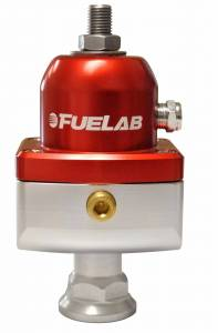 Air/Fuel - Fuel System Parts - Fuelab - Fuelab CARB Fuel Pressure Regulator, Blocking Style, Mini 57504-2
