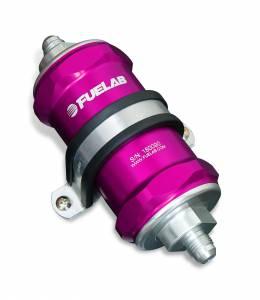 Fuelab - Fuelab In-Line Fuel Filter, 75 micron 81822-4 - Image 1