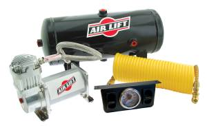 Steering And Suspension - Air Suspension Parts - Air Lift - Air Lift ON BOARD AIR COMPRESSOR KIT 25572