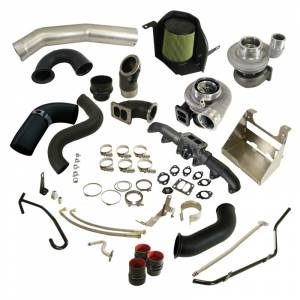 Turbo Chargers & Components - Turbo Charger Kits - BD Diesel - BD Diesel Cobra Twin Turbo Kit S361SX-E / S476SX-E - Dodge 2010-2012 6.7L 1045782